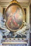 Parte del interior de la basílica Santa Maria Maggiore en Roma, I Fotografía de archivo