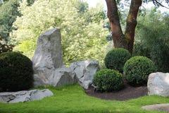 Parte del jardín japonés imágenes de archivo libres de regalías