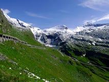 Parte del massiccio della montagna delle alpi Fotografia Stock Libera da Diritti