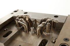 Parte del molde de metal Imagen de archivo libre de regalías