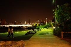 Parte 2 21 del parco del ponte di Brooklyn Fotografia Stock