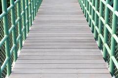 Parte del percorso del ponte Immagini Stock