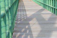 Parte del percorso del ponte Fotografia Stock