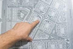 Parte del progetto architettonico Fotografie Stock