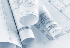 Parte del proyecto arquitectónico imagenes de archivo