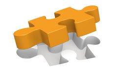 Parte del puzzle illustrazione di stock