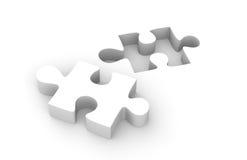 Parte del puzzle Immagini Stock
