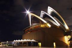 Parte del teatro de la ópera de Sydney Fotografía de archivo libre de regalías