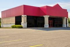 Parte delantera genérica vacante de la tienda, del negocio o del espacio de oficina profesional imágenes de archivo libres de regalías