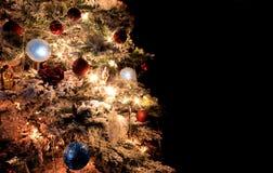 Parte dell'albero di Natale Immagini Stock