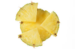 Parte dell'ananas Fotografie Stock