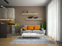 Parte dell'appartamento moderno Immagine Stock Libera da Diritti