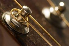 Parte della chitarra fotografia stock libera da diritti