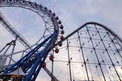 Parte della città di Laqua Tokyo Dome a Tokyo, Giappone Fotografie Stock