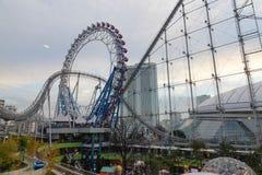 Parte della città di Laqua Tokyo Dome a Tokyo, Giappone Fotografia Stock