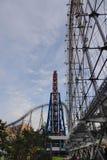 Parte della città di Laqua Tokyo Dome a Tokyo, Giappone Fotografia Stock Libera da Diritti
