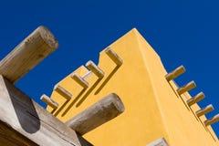Parte della costruzione dell'adobe Fotografie Stock Libere da Diritti