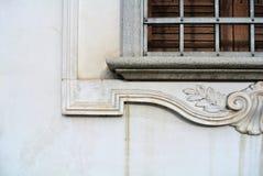 Parte della finestra Fotografia Stock