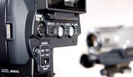parte della Hd-videocamera portatile Immagini Stock