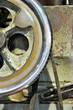 Parte della macchina invecchiata Fotografia Stock