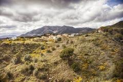 Parte della montagna della regione di Malaga Immagini Stock