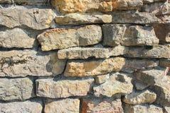 Parte della muratura del buta Pietre di sollievo Struttura Fotografie Stock Libere da Diritti