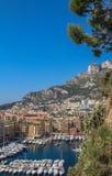 Parte della passeggiata e della montagna con alloggio nel Monaco Fotografia Stock