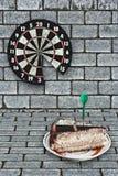 Parte della torta Fotografie Stock