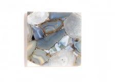 Parte delle mattonelle blu Immagini Stock
