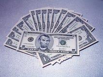 Parte dello stipendio Fotografia Stock