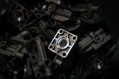 Parte di alluminio Fotografie Stock