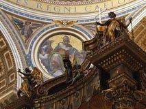 Parte di altare principale del ` s di St Peter Fotografia Stock