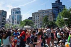 Parte 4 19 di battaglia NYC 2015 della bolla Fotografie Stock