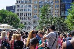 Parte 4 18 di battaglia NYC 2015 della bolla Fotografia Stock Libera da Diritti