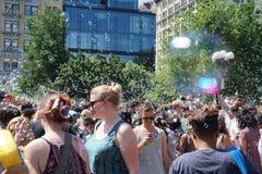Parte 4 14 di battaglia NYC 2015 della bolla Immagini Stock