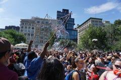 Parte 3 80 di battaglia NYC 2015 della bolla Immagine Stock