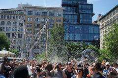 Parte 3 73 di battaglia NYC 2015 della bolla Immagini Stock