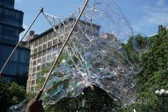 Parte 2 65 di battaglia NYC 2015 della bolla Fotografia Stock
