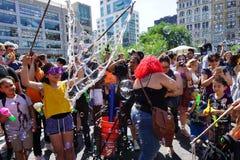 Parte 2 52 di battaglia NYC 2015 della bolla Immagini Stock
