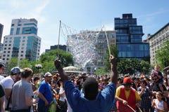 Parte 2 48 di battaglia NYC 2015 della bolla Fotografia Stock