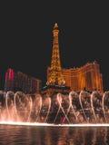 Parte 2 di Bellagio di ballo dell'acqua Fotografia Stock Libera da Diritti