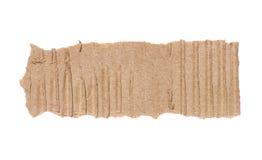 Parte di cartone ondulato Fotografia Stock