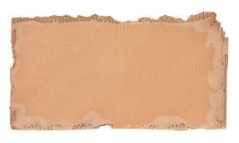 Parte di cartone ondulato Fotografie Stock