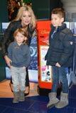 Parte di Disney Store il lancio di campagna della carità dei bambini magici a Londra Immagine Stock Libera da Diritti