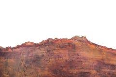 Parte di legno d'annata della sezione tagliata di legno Immagini Stock