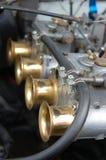 Parte di motore dell'automobile Immagini Stock