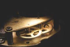 Parte di movimento a orologeria Fotografia Stock Libera da Diritti