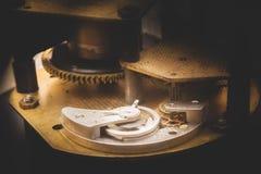 Parte di movimento a orologeria Fotografia Stock