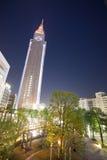 Parte di notte della città di Tokyo Fotografia Stock