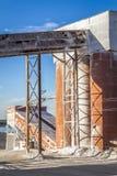 Parte di piccola fabbrica del cemento Immagini Stock Libere da Diritti